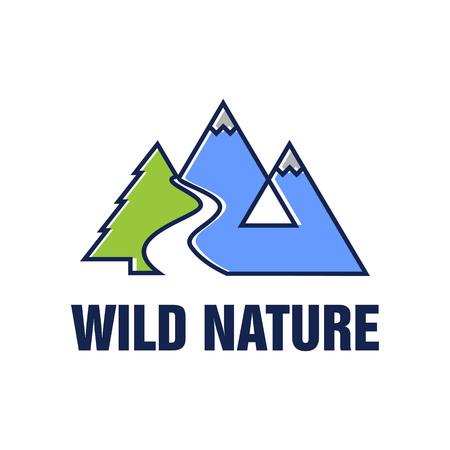 Wild Nature Vector Logo Template
