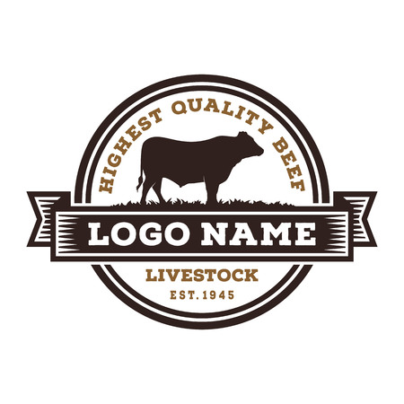 Inspiration For Beef Cattle Logo Design