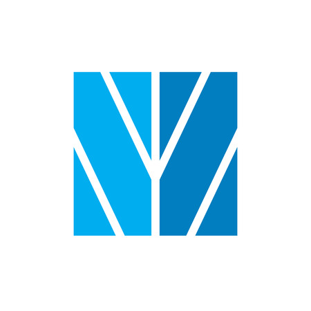 Initial W abstract leaf logo Фото со стока - 118070840
