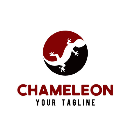 Chameleon logo icon designs