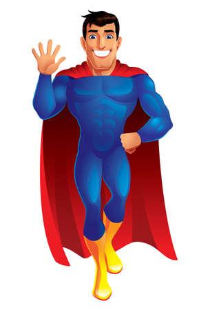 Superhero 矢量图像