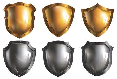 Golden & Iron Shield