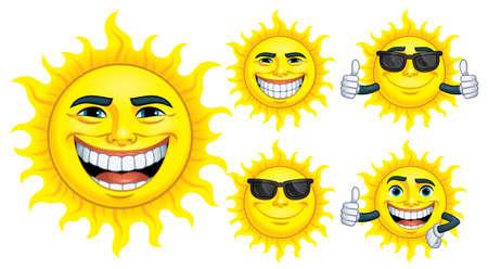 Cartoon Sun Collection