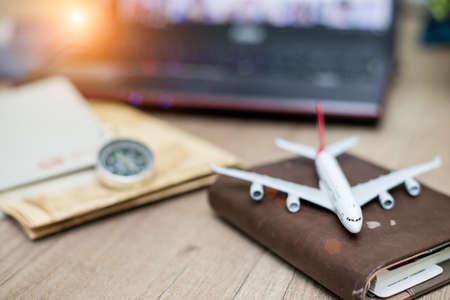 airplane passport flight travel traveller