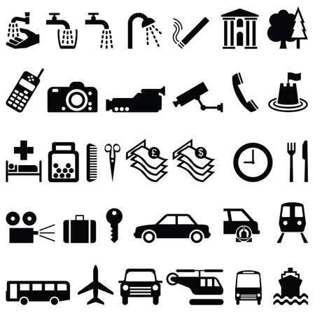 baggage: Auflistung von Signage Objekten und Transport individuell geschichtet