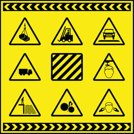 pinch: Hazard Warning Signs 1