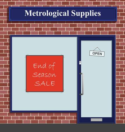 metrology: The Metrological Supplies shop has an end of season sale
