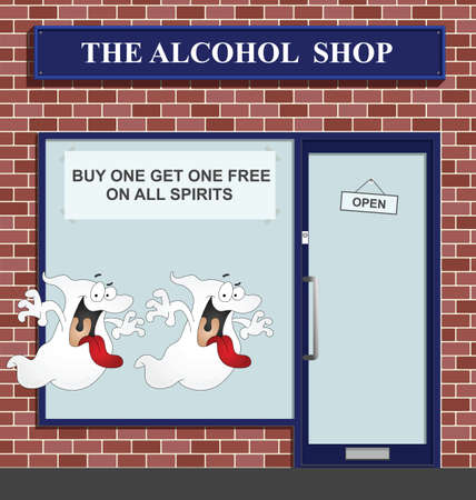 get one: Buy one get one free on all spirits