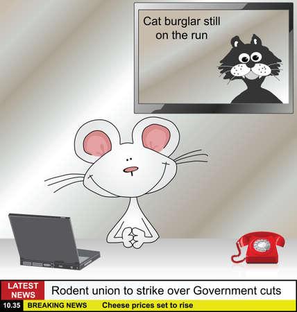 齧歯動物関連ニュース漫画マウス ニュース リーダー