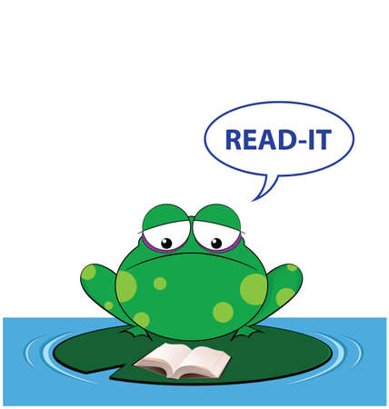lilly pad: Comical take on the sound a frog makes