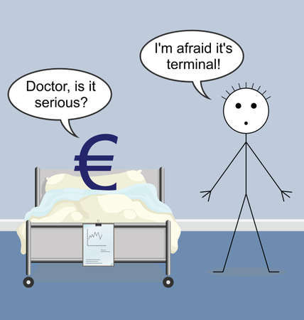 Doctor quack on the hospital ward and the Euro Vector