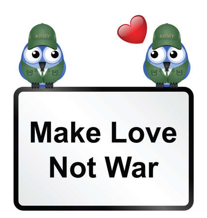 to adore: Make love not war sign