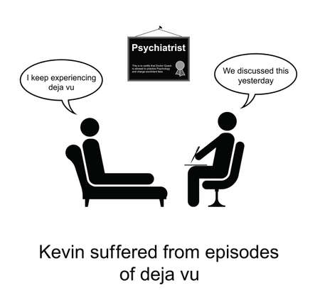 Kevin e il suo povero cartone animato memoria isolato su sfondo bianco Archivio Fotografico - 23864172