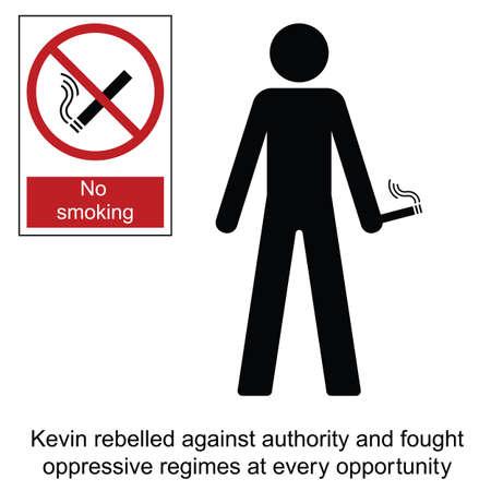 dictature: Kevin la bande dessin�e rebelle isol� sur fond blanc