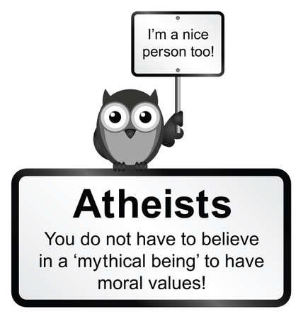 valores morales: Valores morales Monocromo signo aislado sobre fondo blanco Vectores