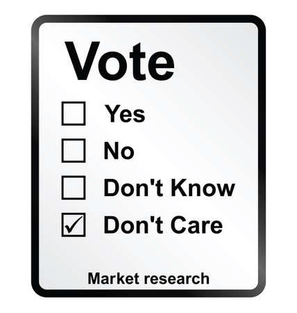 marktforschung: Monochrome Marktforschungs Abstimmung Zeichen isoliert auf wei�em Hintergrund