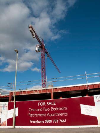 abodes: Churchill retirement apartment construction site development