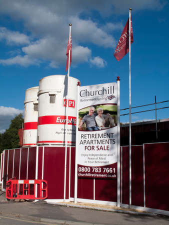 churchill: Churchill retirement apartment construction site development