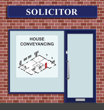 abode: Solicitors premises advertising house conveyancing services