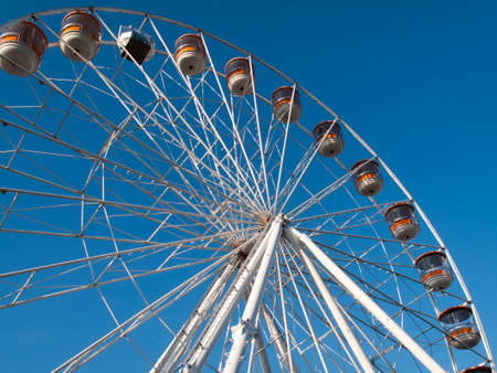 Salisbury Eye Ferris Wheel stands 115 feet high, annual summer feature to the city Editorial