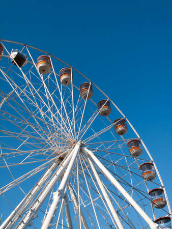 Salisbury Eye Ferris Wheel stands 115 feet high, annual summer feature to the city Editorial