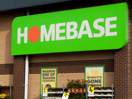 Homebase, British home improvement retailer and garden centre