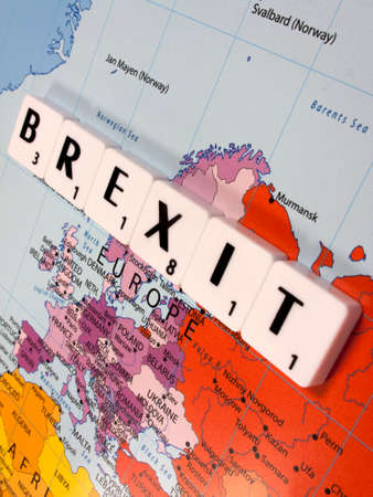 representing Brexit, the United Kingdom exit from the European Union resulting from the June 2016 referendum