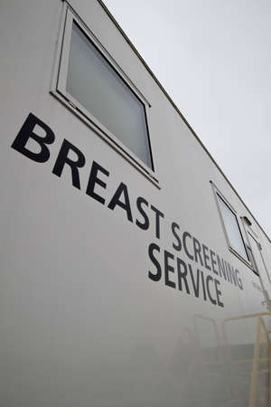 University of Southampton NHS Trust Breast Screening Service, mobile unit serving the counties of Hampshire and Wiltshire 에디토리얼