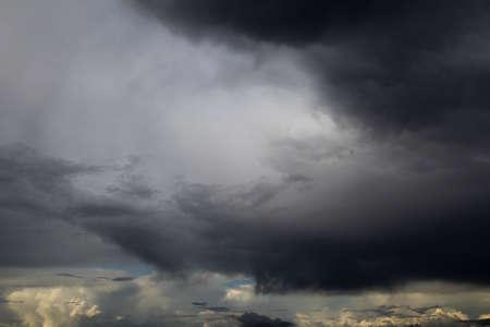 Dramatic storm cloud sky scape background Фото со стока