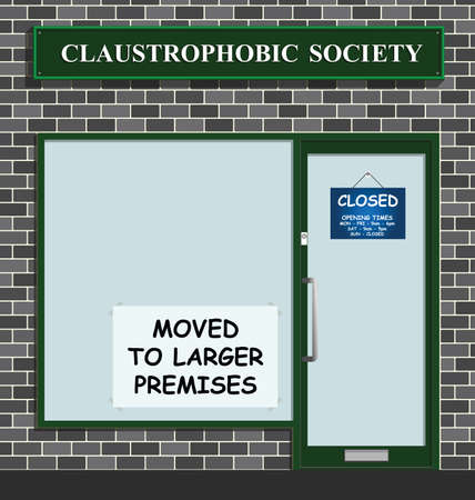 The Claustrophobic Society moves to larger premises