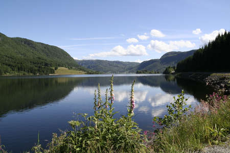 river: landscape 4 Stock Photo
