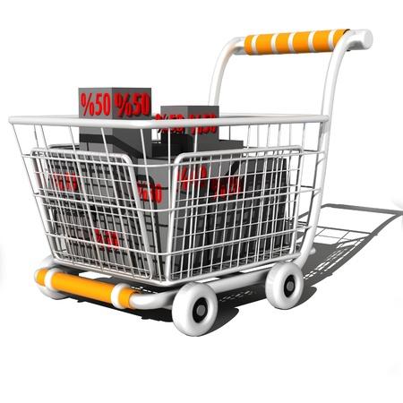 nakupování Reklamní fotografie