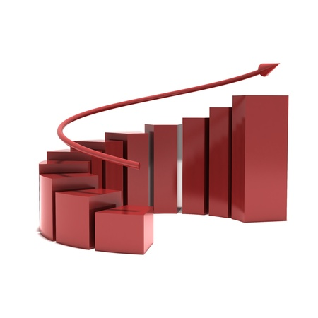 Growth, Chart Stock Photo