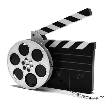 carrete de cine: Cine Foto de archivo