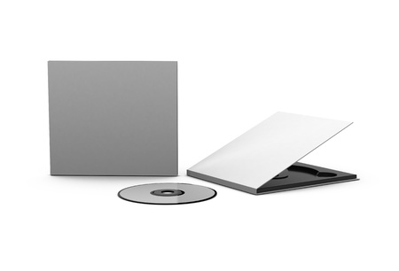 cd and case Stock Photo - 13782578