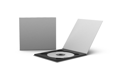 rom: cd and case Stock Photo