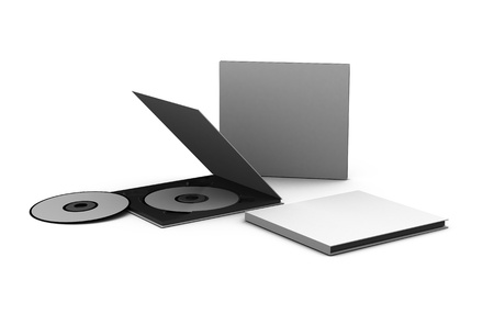 cd and case Stock Photo - 13782583