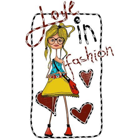 fashion  love Vector