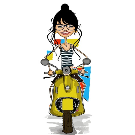 free girl Illustration