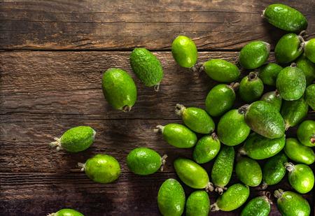subtropical plants: Feijoa fruit