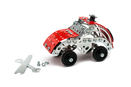 Children metal designer kit