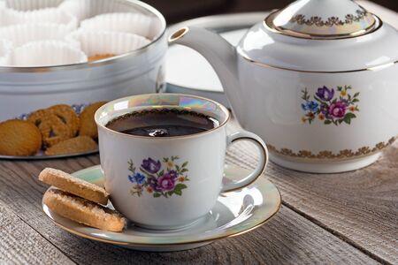 danish: Tea with Danish butter cookies