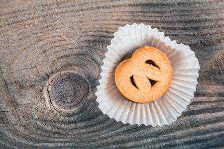 tucker: Danish butter cookies Stock Photo