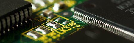 microprocessor: electronic circuit board