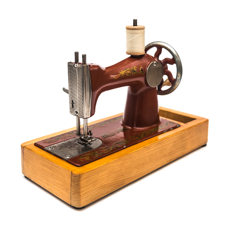 Vintage Hand Sewing Machine Stock Photo Picture And Royalty Free Best Hand Sewing Machine