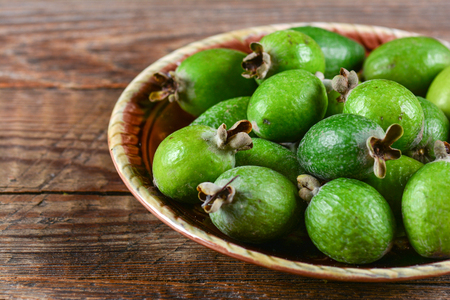 feijoa: Feijoa fruit