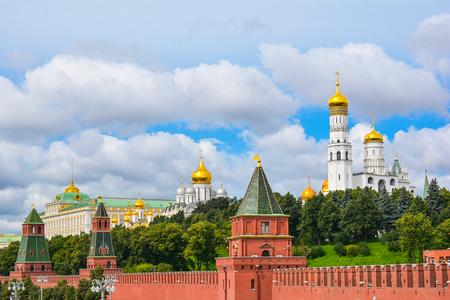 View to Moscow Kremlin Stock Photo