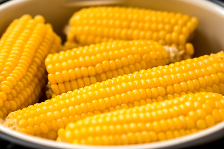 Boiled corn cobs in multivariate