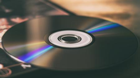 Dischi compatti e scatole disco Archivio Fotografico - 87934735
