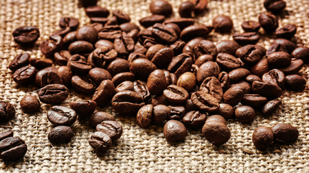 grained: Coffee beans